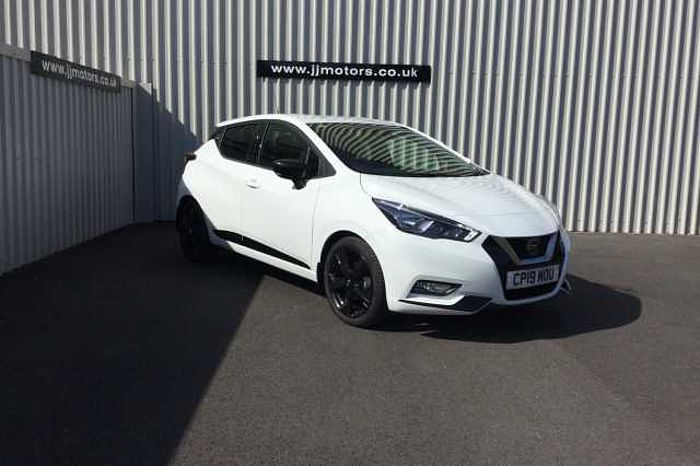 Nissan Micra Hatchback (All New) 1.0 IG-T (100ps) N-Sport White