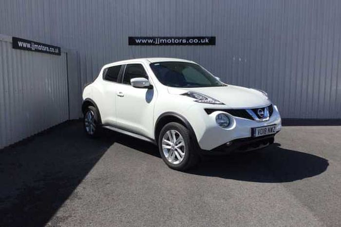 Nissan Juke 1.2 DIG-T N-Connecta 5-Door Hatchback White