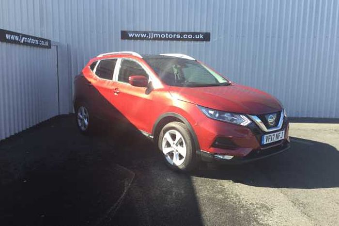 Nissan Qashqai 1.5 dCi Acenta S/S Red