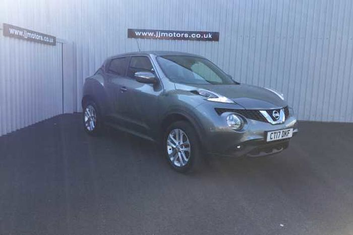Nissan Juke 1.2 DIG-T N-Connecta 5-Door Hatchback Grey