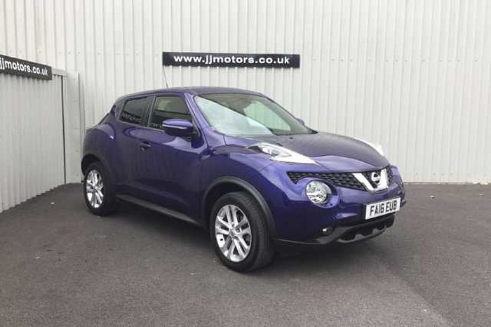 Nissan Juke 1.5 dCi N-Connecta 5-Door Hatchback Blue