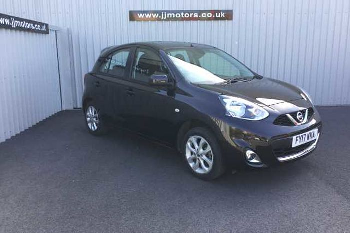 Nissan Micra 1.2 Acenta 5-Door Hatchback Black