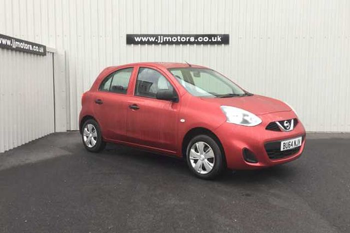 Nissan Micra 1.2 Visia 5-Door Hatchback Red