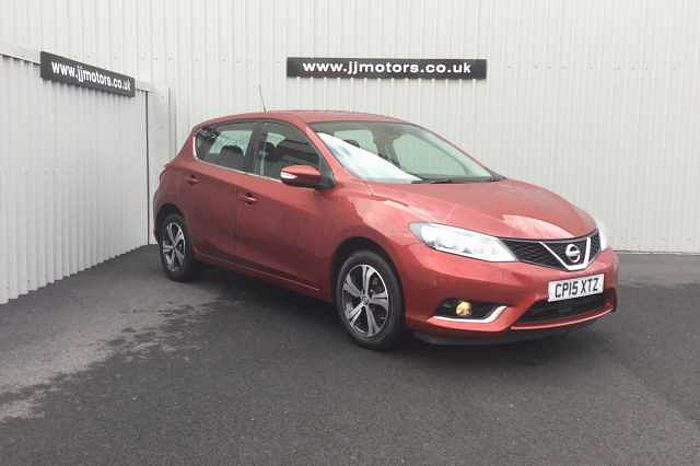 Nissan Pulsar 1.2 DIG-T Acenta Hatchback 5-Door Red