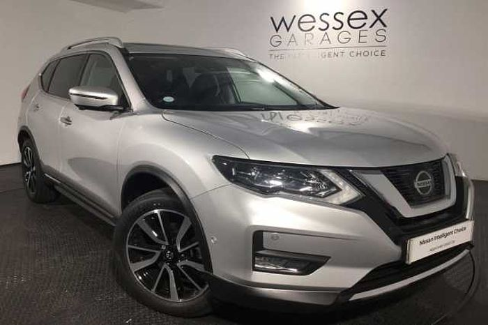 Nissan X-Trail 5Dr SW 1.7dCi (150ps) 4WD Tekna (7 Seat) Metallic - Universal Silver