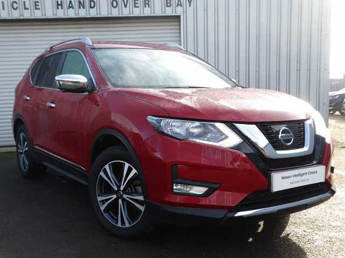 Nissan X-Trail 1.6 dCi N-Connecta 5-Dr Station Wagon Red