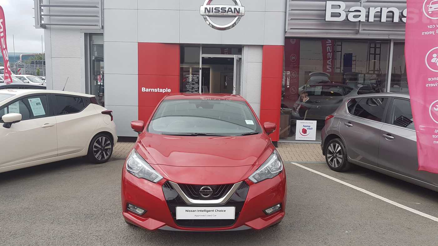 Nissan Micra (New) │Red│for Sale in Barnstaple│Nissan