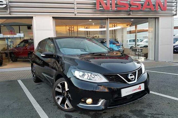 Nissan Pulsar 1.5 dCi Tekna Hatchback 5-Door Black Metallic