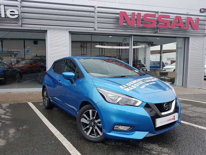 Nissan Micra Hatchback (All New) 1.5dCi 90 N-Connecta Power Blue