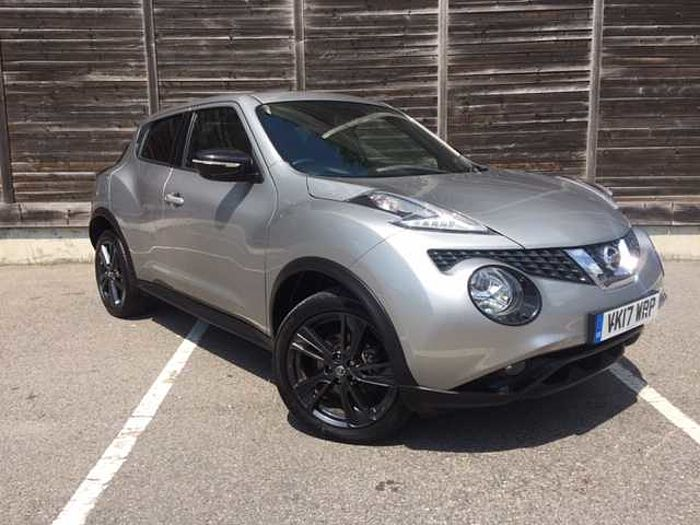 Nissan Juke 1.2 DIG-T N-Connecta Style 5-Door Hatchback Blade Silver Metallic