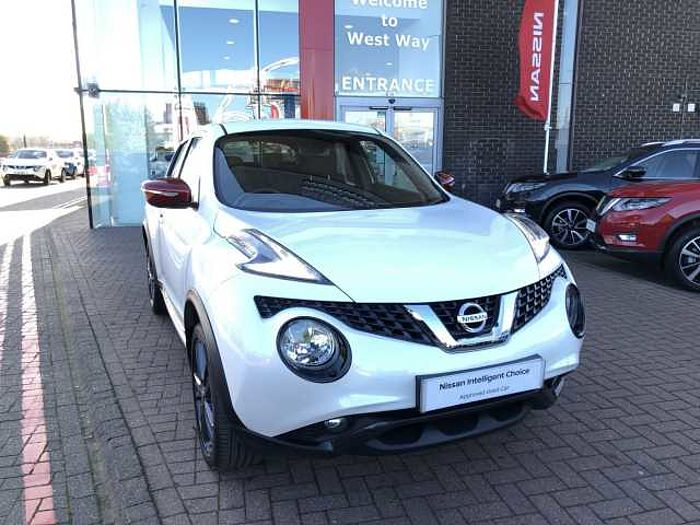 Nissan Juke 1.2 DIG-T Envy  5-Door Hatchback White