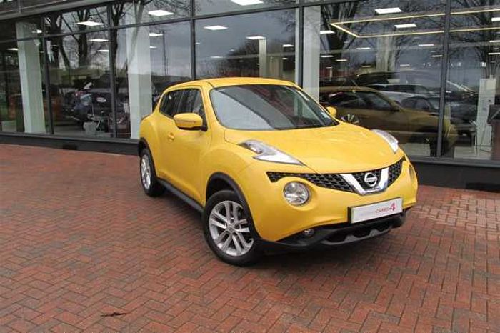 Nissan Juke 1.2 DIG-T Acenta Premium 5-Door Hatchback Sun Light Yellow Metallic