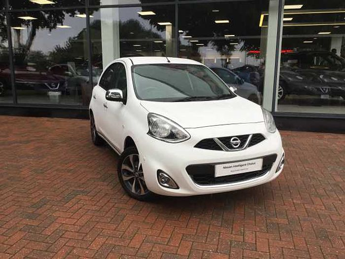 Nissan Micra 1.2 n-tec 5-Door Hatchback White