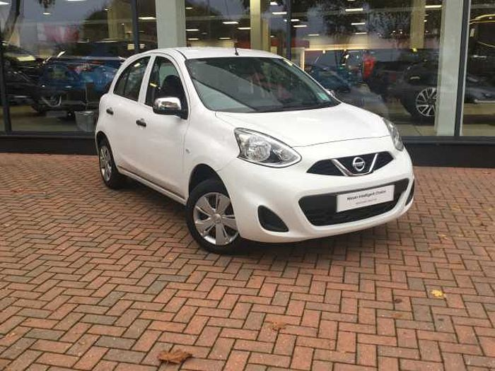 Nissan Micra 1.2 Visia 5-Door Hatchback White