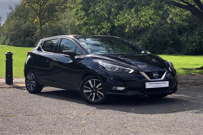 Nissan MICRA HATCHBACK (ALL NEW) 0.9 IG-T 90 N - Connecta Black Metallic