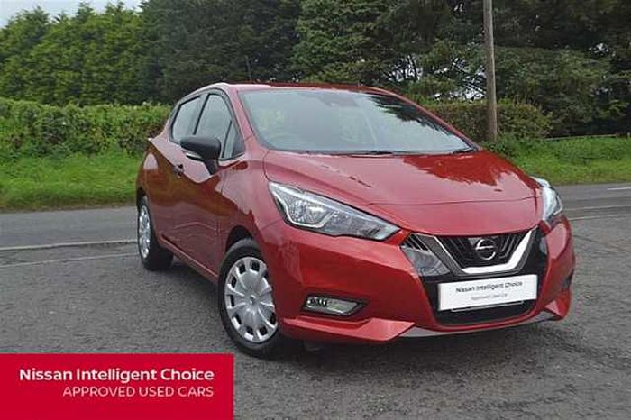 Nissan MICRA HATCHBACK (ALL NEW) 1.0 Visia Red