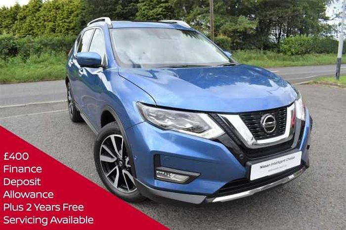 Nissan X-Trail 5Dr SW 1.7dCi (150ps) Tekna (5 Seat) BLUE
