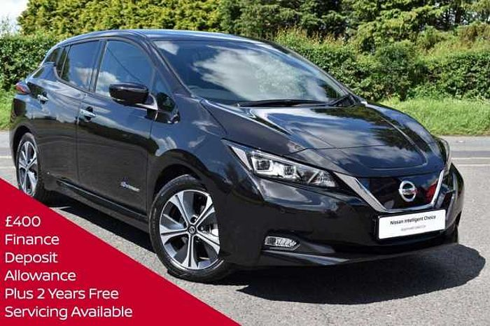 Nissan Leaf E (110kw) N - Connecta (40kWh) 5 Dr Hatchback BLACK