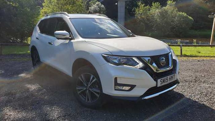 Nissan X-Trail 5Dr SW 1.7dCi (150ps) N-Connecta (7 Seat) Pearl White
