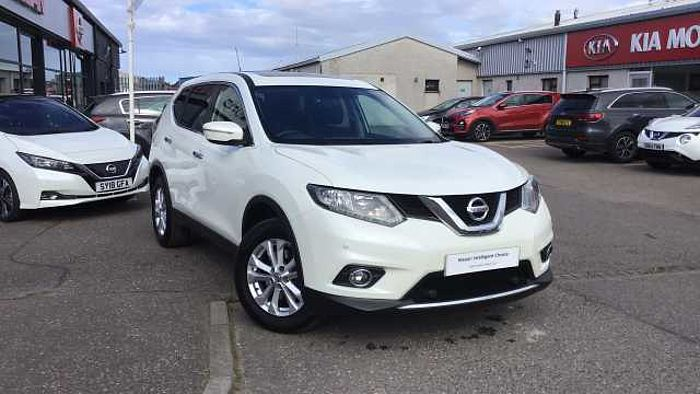 Nissan X-Trail 1.6 dCi Acenta 5-Door Station Wagon White