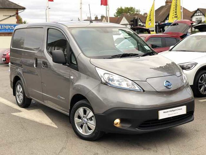Nissan e-NV200 40kW [150] Tekna Heat Pack Panel Van Twilight Grey