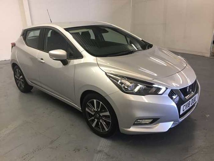 Nissan Micra Hatchback (All New) 1.5dCi 90 Acenta Platinum Silver