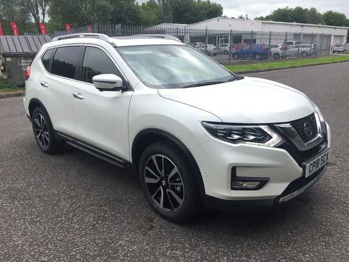 Nissan X-Trail 1.6 dCi Tekna 5-Door Station Wagon Storm White
