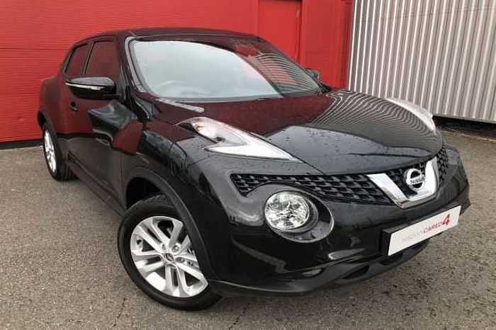 Nissan Juke 1.5 dCi N - Connecta 5-Door Hatchback Metallic - Pearl black