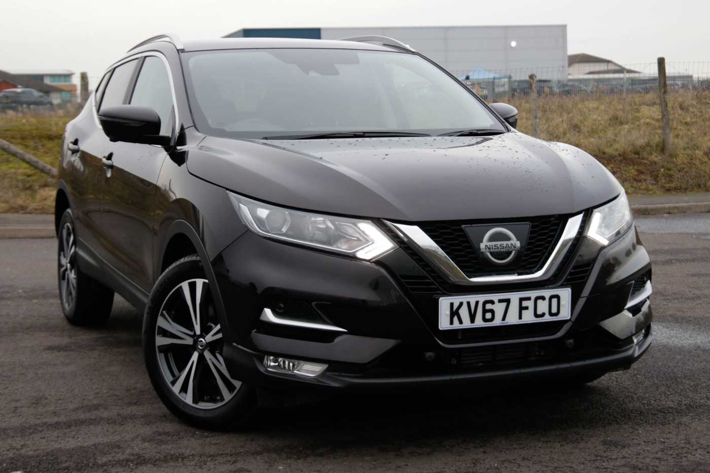 Nissan Qashqai Black For Sale In Bromsgrove Nissan Used Cars Uk