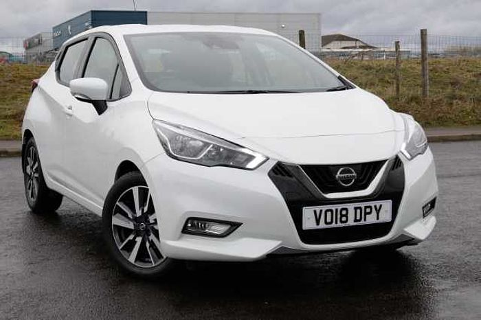Nissan Micra Hatchback (All New) 1.5dCi 90 Acenta White