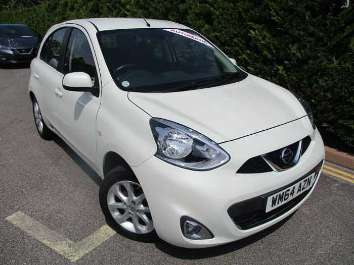 Nissan Micra 1.2 Acenta 5-Door Hatchback White