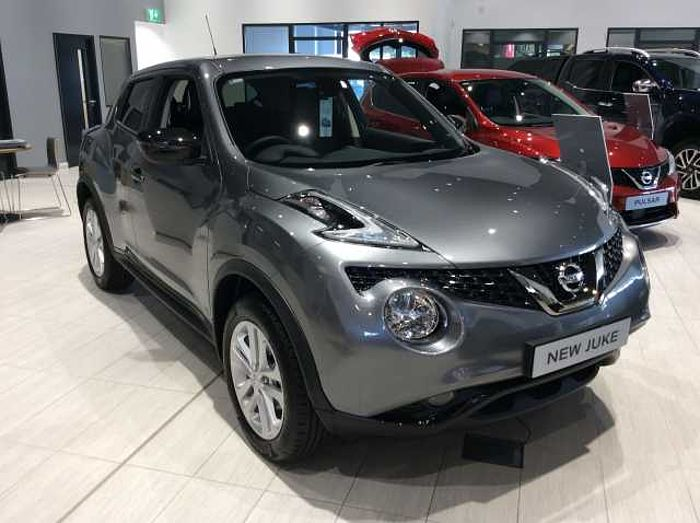 Nissan Juke 1.6 Bose Personal Edition 5-Door Hatchback Grey