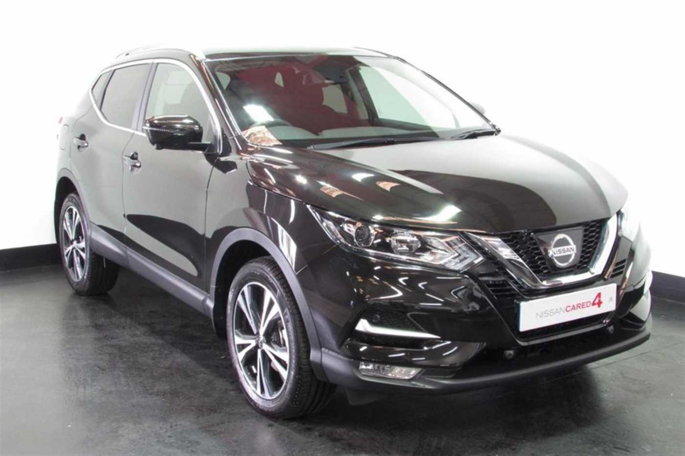 Nissan Qashqai │Black│for Sale in Salisbury│Nissan Used Cars UK ...