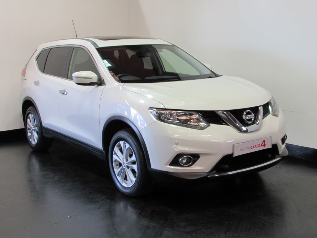 Nissan X-Trail │White│for Sale in Salisbury│Nissan Used Cars UK ...