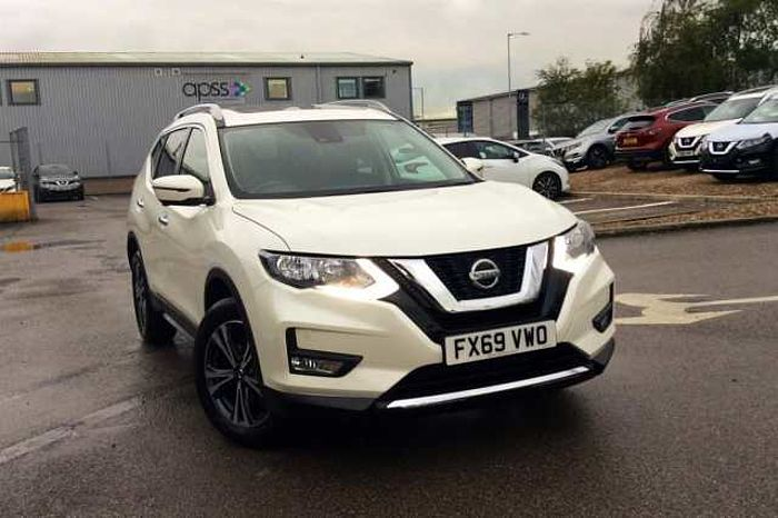 Nissan X-Trail 5Dr SW 1.7dCi (150ps) N - Connecta (5 Seat) Pearl - Storm white