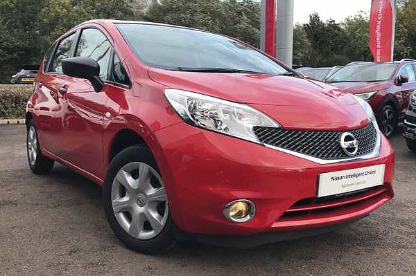 Nissan Note 1.2 Visia Limited Edition 5-Door Hatchback Flame Red