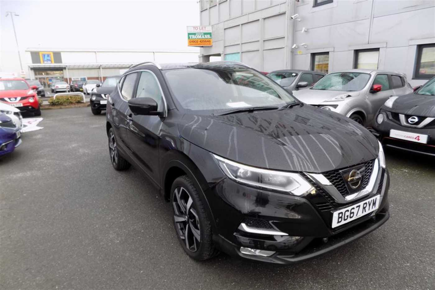 Nissan Qashqai Black For Sale In Wolverhampton Nissan Used Cars