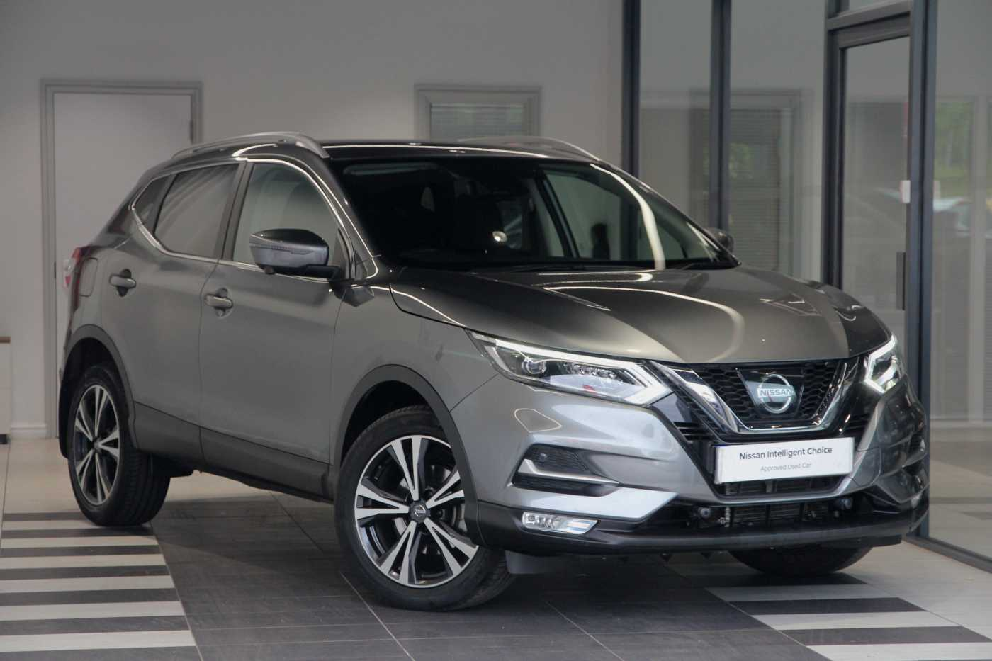 Nissan Qashqai │Grey│for Sale in Peterborough│Nissan Used ...