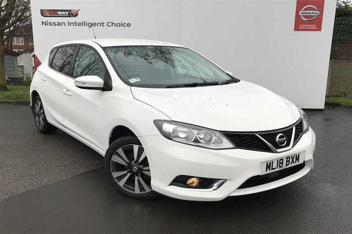 Nissan Pulsar 1.2 DIG-T  N - Connecta Hatchback 5-Door WHITE