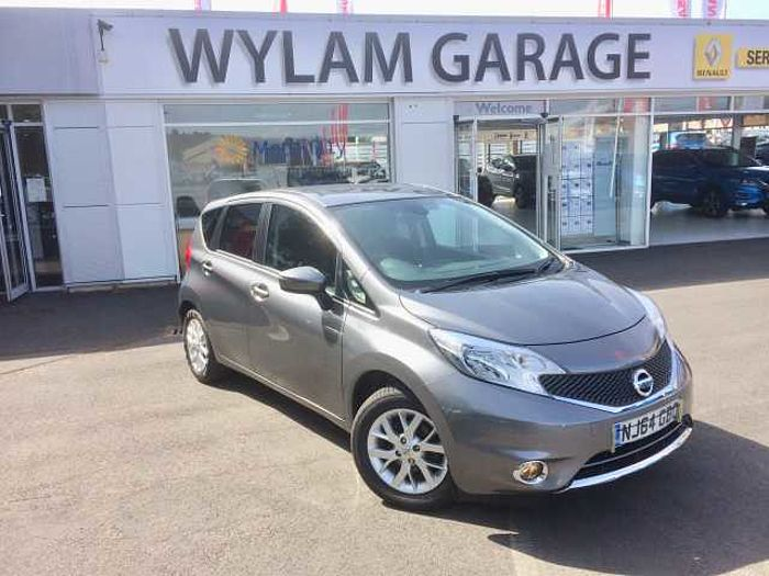 Nissan Note 1.5dci (90PS) Acenta Premium 5-Door Hatchback Grey Metallic