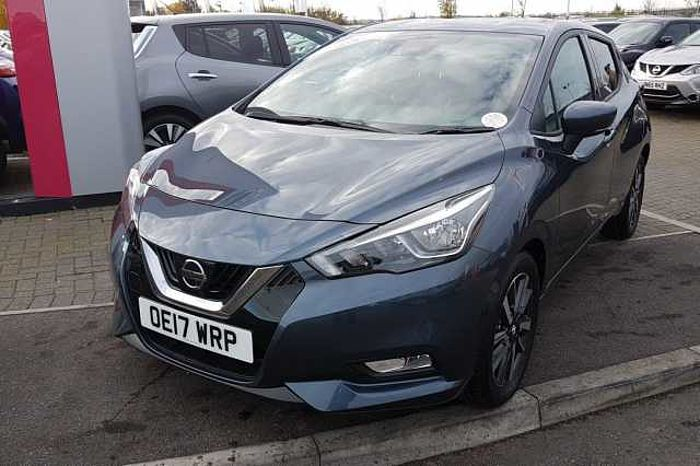 Nissan MICRA HATCHBACK (ALL NEW) 1.5dCi 90 N - Connecta Grey Metallic