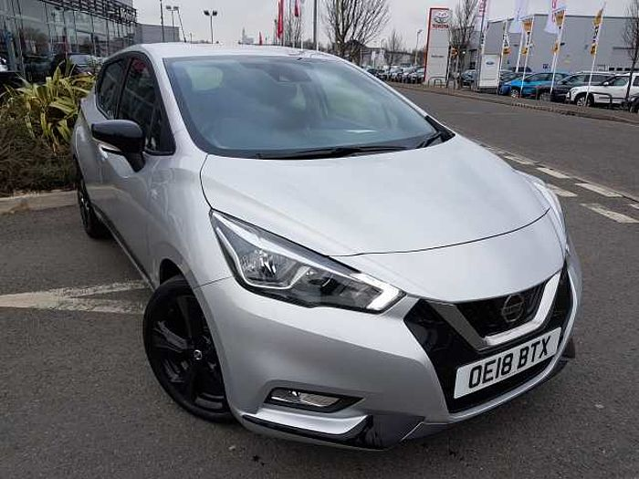 Nissan Micra Hatchback All New 0.9 IG-T 90 Acenta Ltd Ed Blade Silver