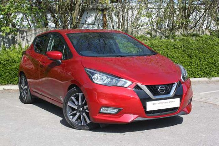 Nissan MICRA HATCHBACK (ALL NEW) 1.5dCi 90 N-Connecta Passion Red Metallic