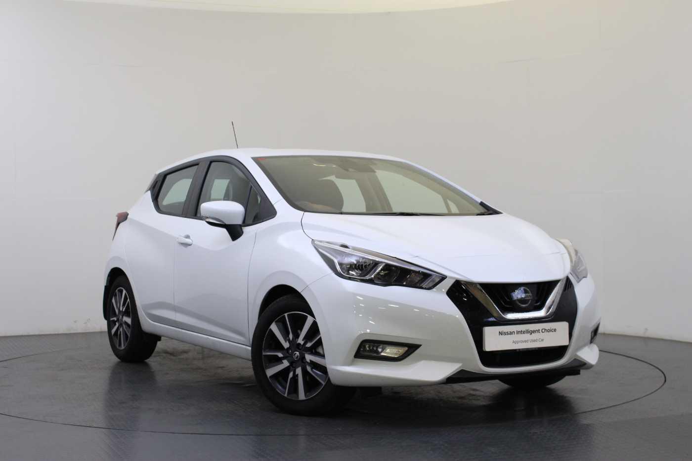Nissan Micra (New) │White│for Sale in Edinburgh│Nissan