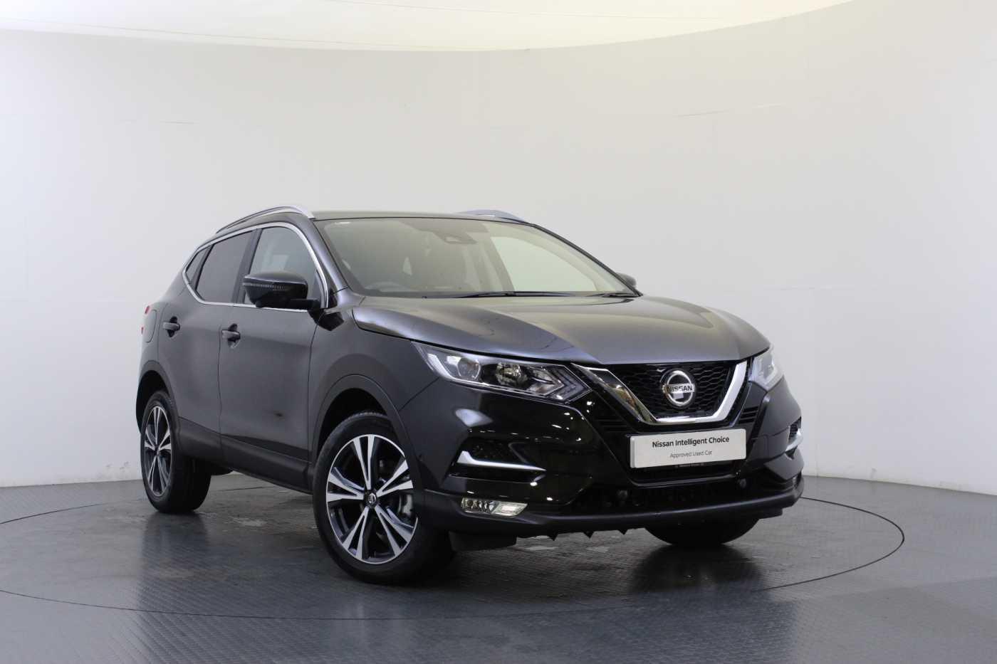 Nissan Qashqai │Black│for Sale in Edinburgh│Nissan Used ...