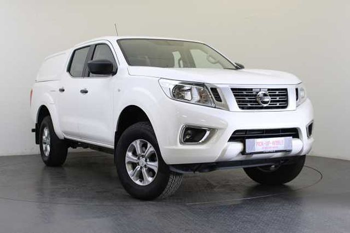 Nissan Navara 2.3 dCi 160 4WD Visia Double Cab Pickup with Differential (EU6) Alabaster White