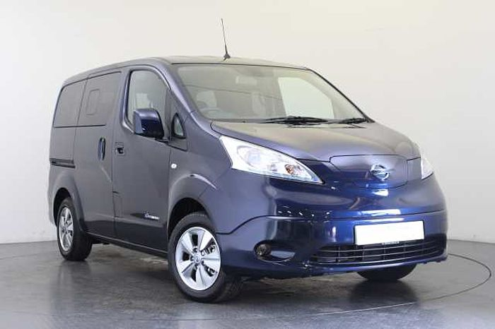 Nissan e-NV200 Combi 40KW Evalia Auto with 7 Seats and Heat Pack Cayman Blue