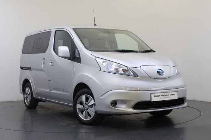 Nissan e-NV200 Combi 40KW Evalia Auto with 7 Seats and Heat Pack Silver