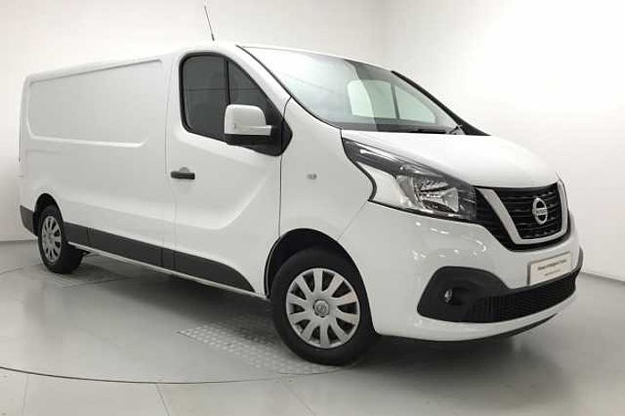 Nissan NV300 1.6dCi (125ps) Acenta L2H1 (1.2t) Panel Van Glacier White