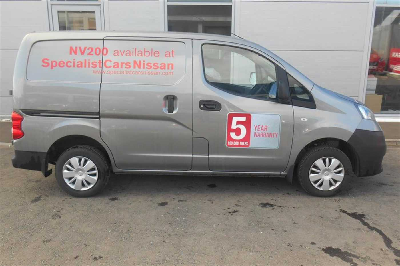 Nissan NV200 │Grey│for Sale in Aberdeen│Nissan Used Cars UK MDX ...